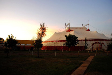 Boswell Wilkie Circus Big Top